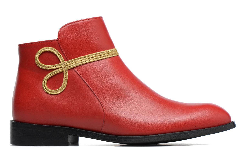 Bottines et boots Made by SARENZA Boots Camp #18 Rouge vue détail/paire