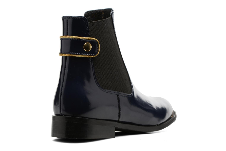 Boots Camp #19 Cuir marine