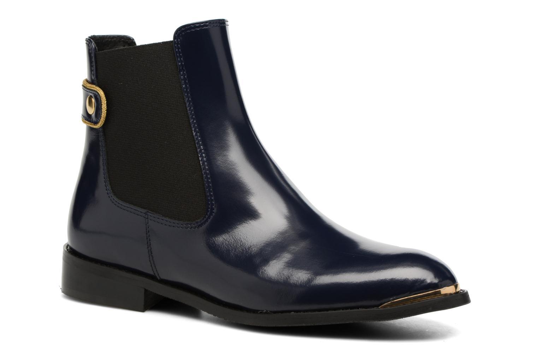 Bottines et boots Made by SARENZA Carioca Crew Boots #3 Bleu vue droite