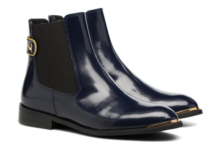 Bottines et boots Made by SARENZA Carioca Crew Boots #3 Bleu vue derrière