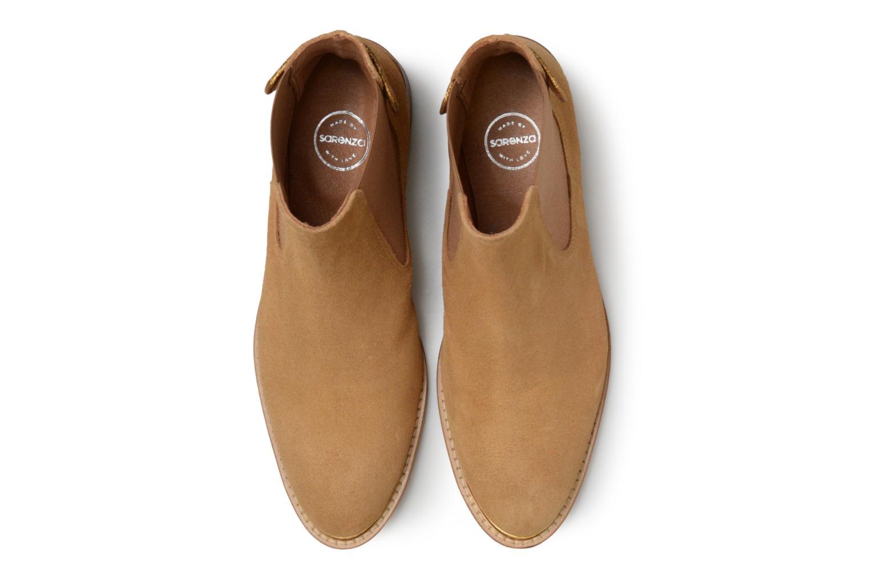 Carioca Crew Boots #3 Cuir velours Beige