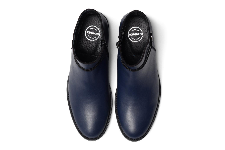Bottines et boots Made by SARENZA Boots Camp #20 Bleu vue portées chaussures