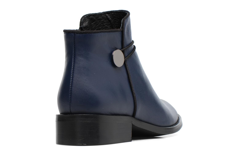 Bottines et boots Made by SARENZA Boots Camp #20 Bleu vue face
