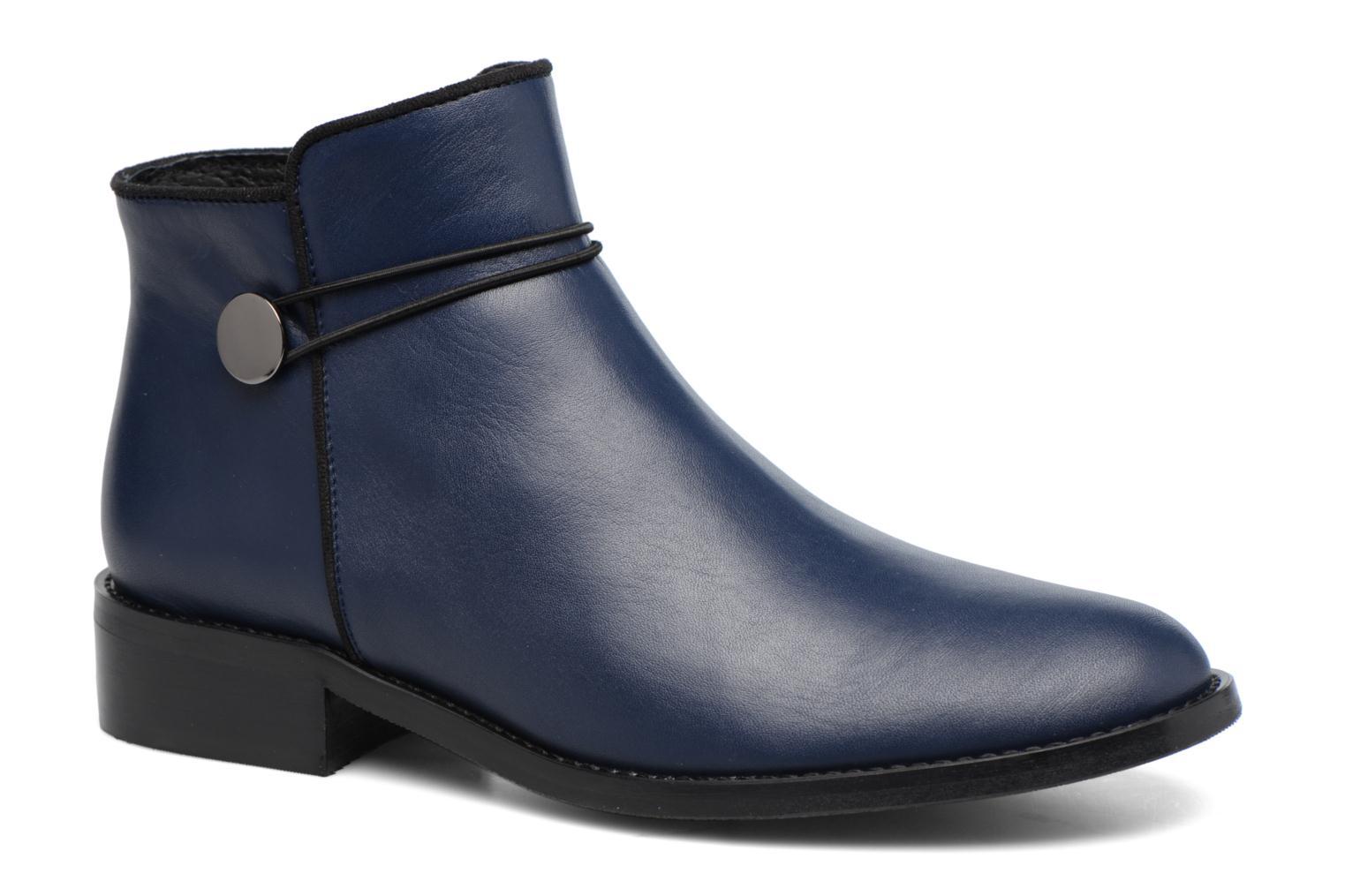 Bottines et boots Made by SARENZA Boots Camp #20 Bleu vue droite