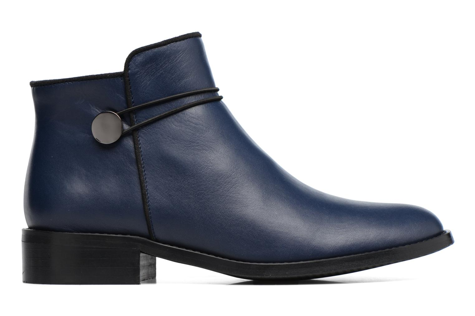 Boots Camp #20 Cuir Lisse Marine