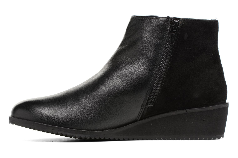 Bottines et boots Hush Puppies Colara Noir vue face