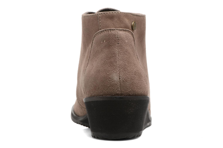 Bottines et boots Hush Puppies Colali Marron vue droite