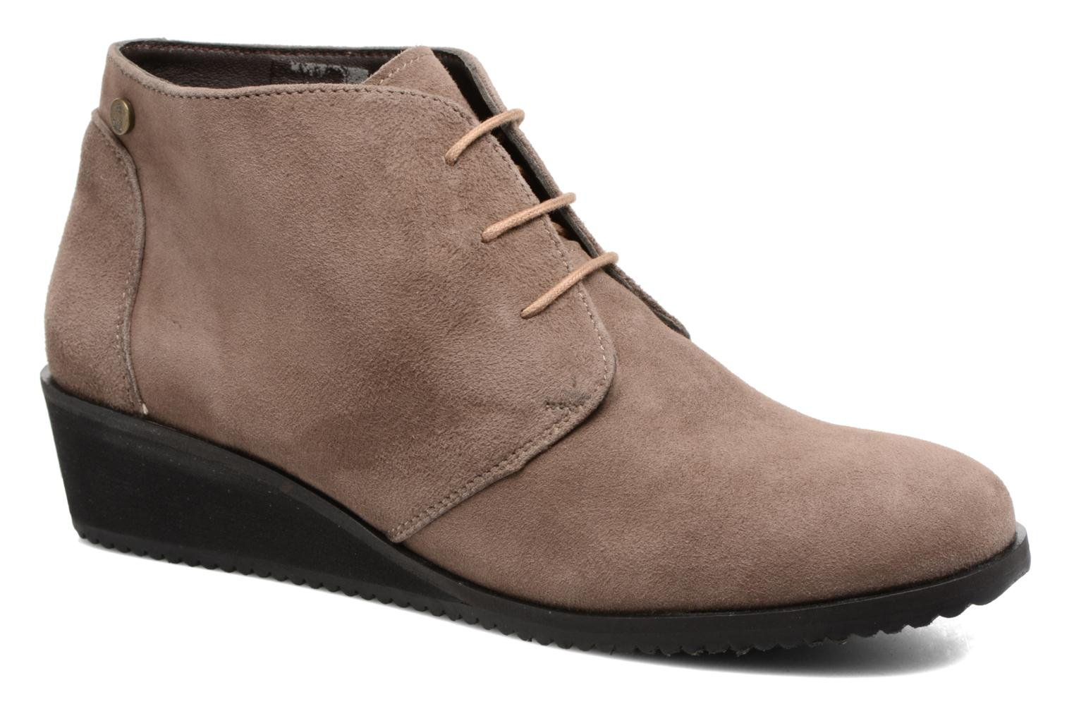 Bottines et boots Hush Puppies Colali Marron vue détail/paire