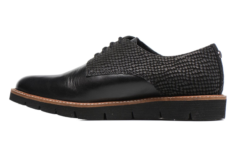 Chaussures à lacets Hush Puppies Saule Noir vue face
