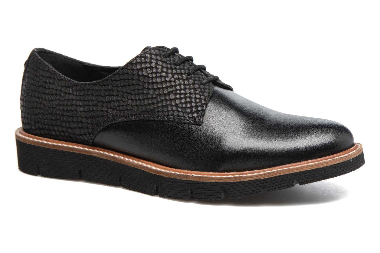 Chaussures à lacets Hush Puppies Saule Noir vue détail/paire