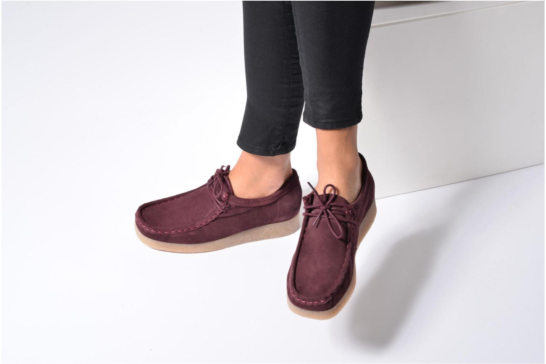Chaussures à lacets Bensimon Derbys Casual Noir vue bas / vue portée sac
