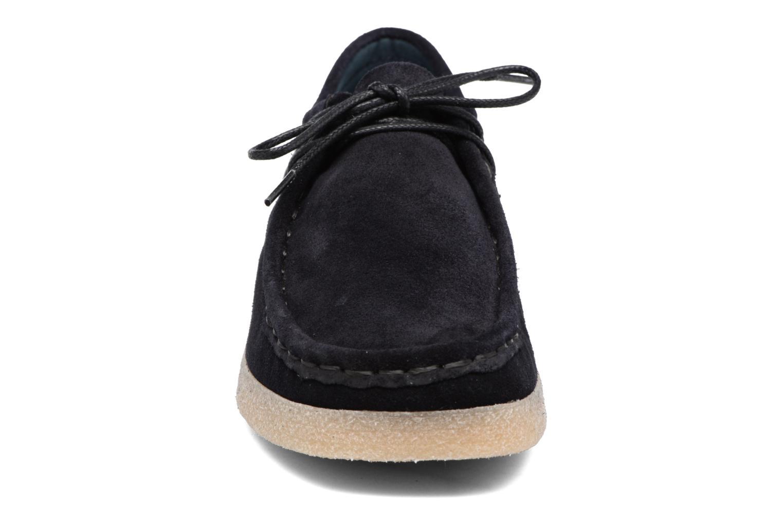 Lace-up shoes Bensimon Derbys Casual Black model view