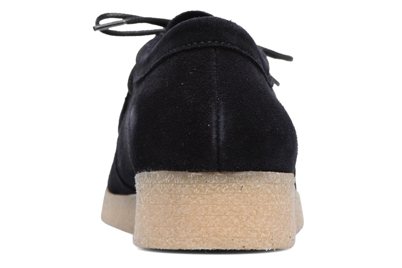 Lace-up shoes Bensimon Derbys Casual Black view from the right