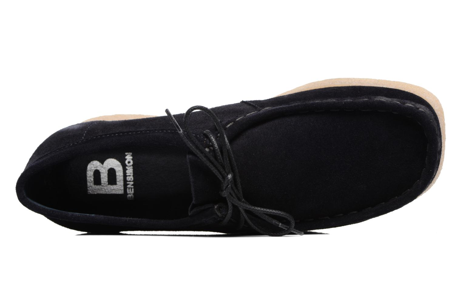 Lace-up shoes Bensimon Derbys Casual Black view from the left