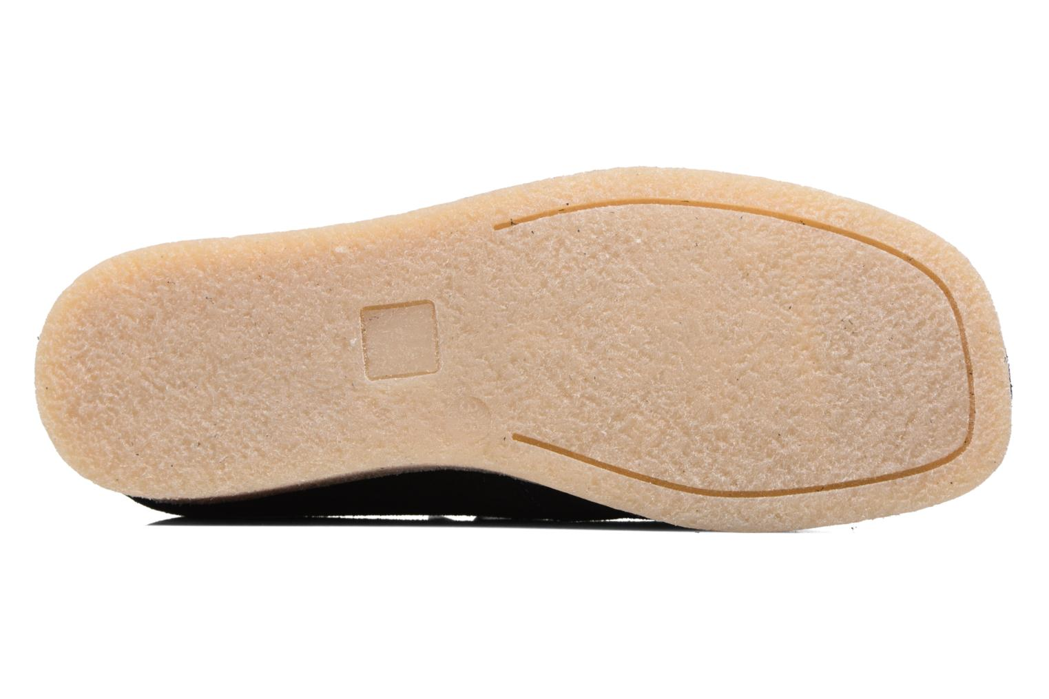 Lace-up shoes Bensimon Derbys Casual Black view from above