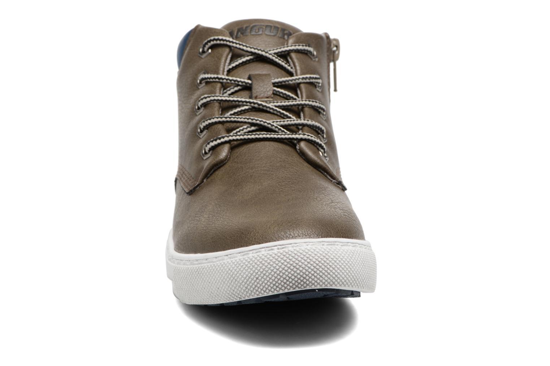 Baskets Canguro C57404 Gris vue portées chaussures