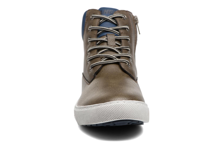 Baskets Canguro C57402 Gris vue portées chaussures