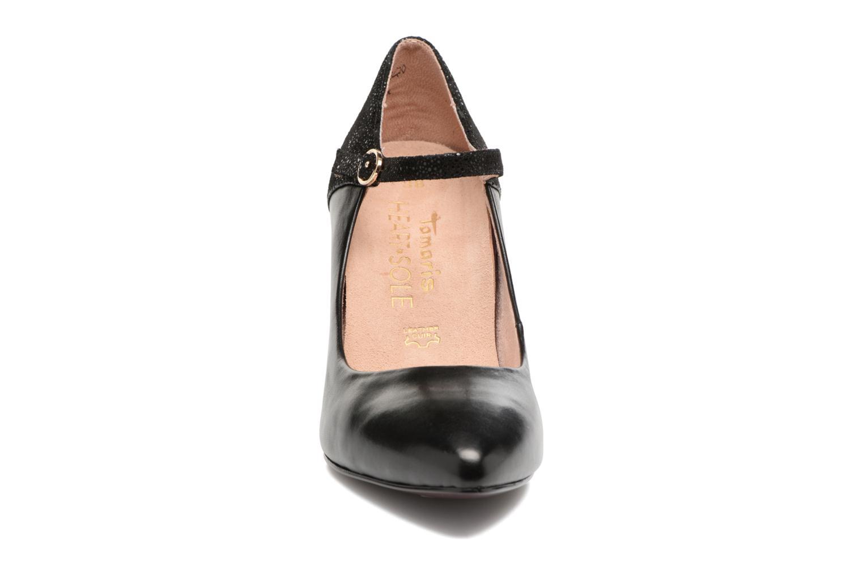 Escarpins Tamaris Aglari Noir vue portées chaussures