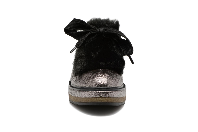 Chaussures à lacets Tamaris Melania Argent vue portées chaussures