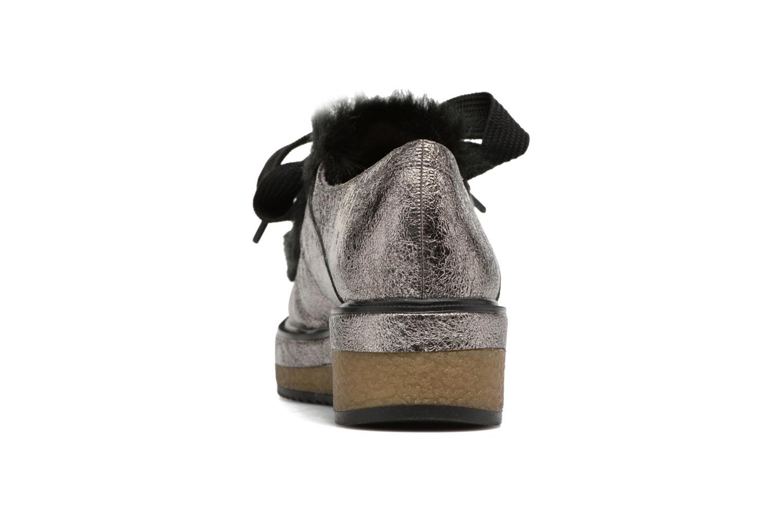 Chaussures à lacets Tamaris Melania Argent vue droite