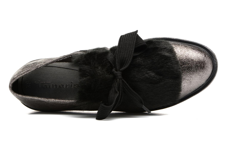Chaussures à lacets Tamaris Melania Argent vue gauche