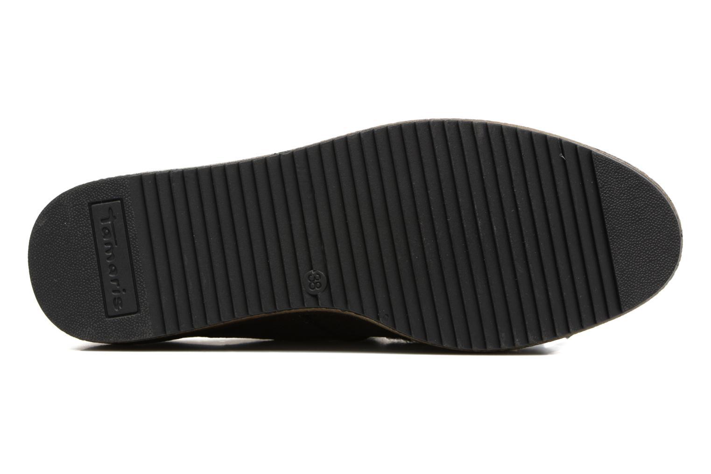 Chaussures à lacets Tamaris Melania Argent vue haut
