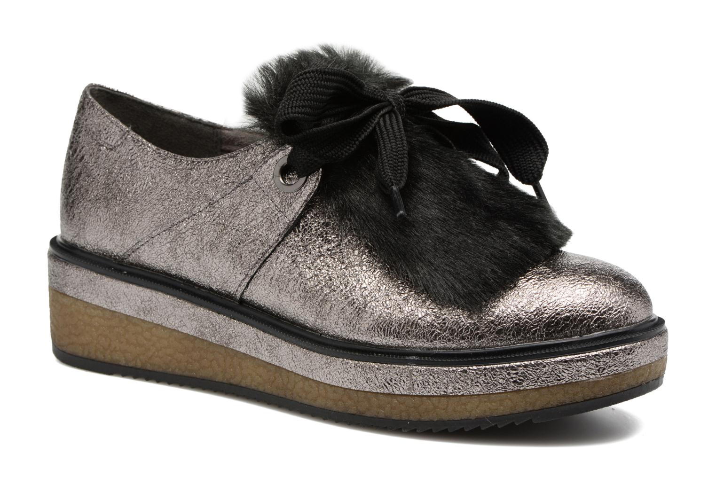 Chaussures à lacets Tamaris Melania Argent vue détail/paire