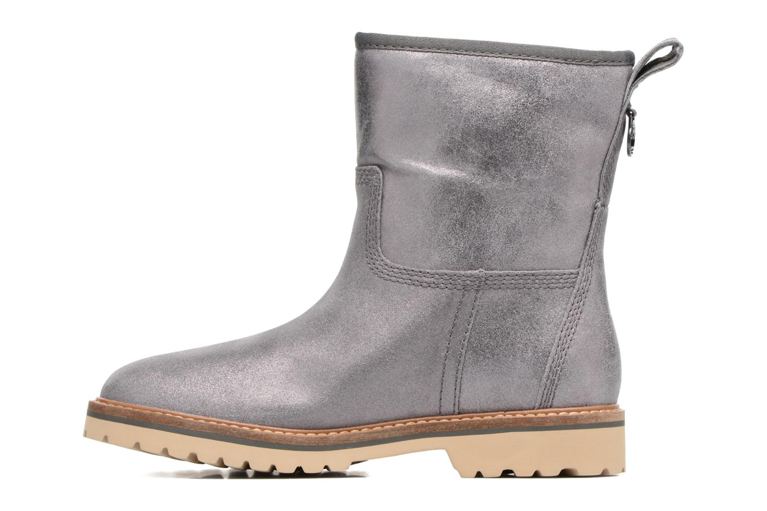 Chamonix Valley Winter Boot Dark Grey Shiny Suede