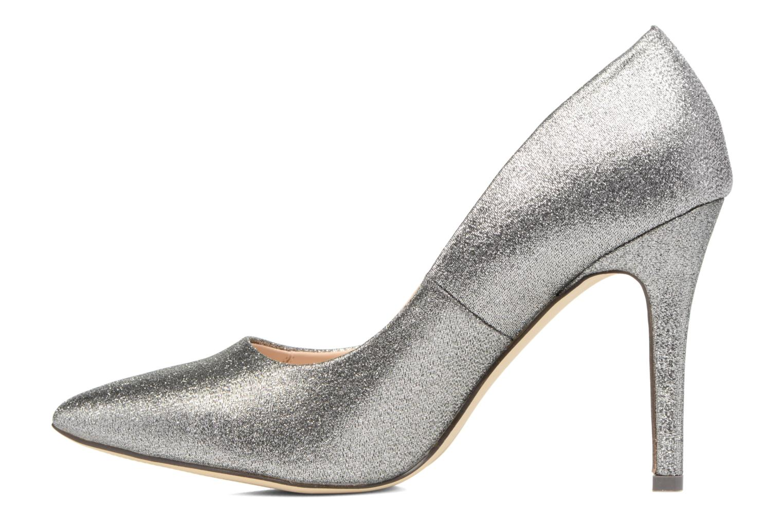 High heels Menbur Servier Silver front view