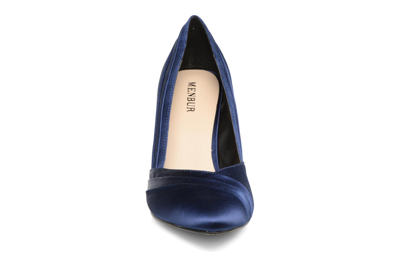 Escarpins Menbur Cortecillas Bleu vue portées chaussures