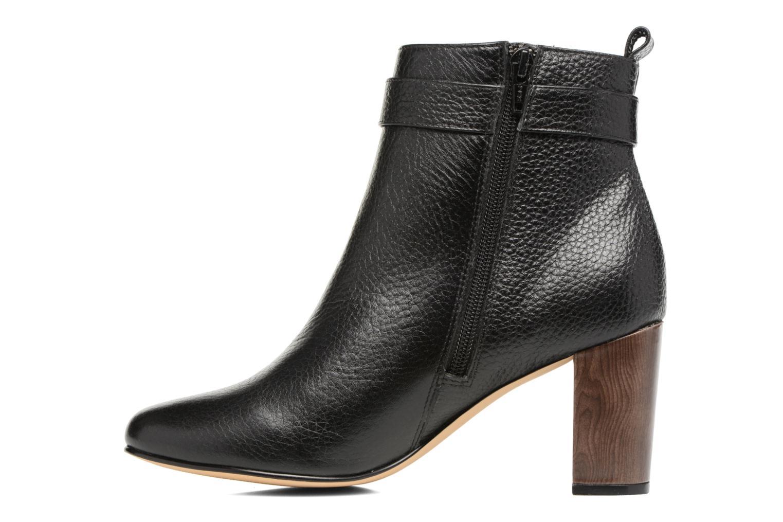 Ankle boots Menbur Almansora Black front view