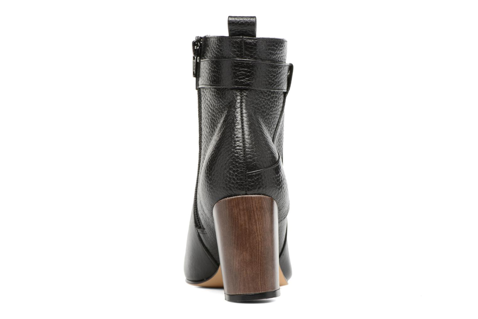 Ankle boots Menbur Almansora Black view from the right