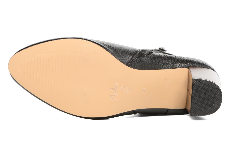 Ankle boots Menbur Almansora Black view from above