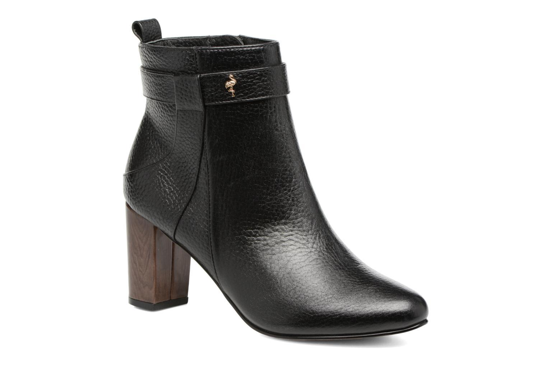 Ankle boots Menbur Almansora Black detailed view/ Pair view