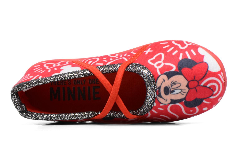 Chaussons Minnie Salanque Minnie Rouge vue gauche