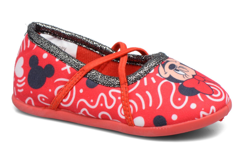Chaussons Minnie Salanque Minnie Rouge vue détail/paire