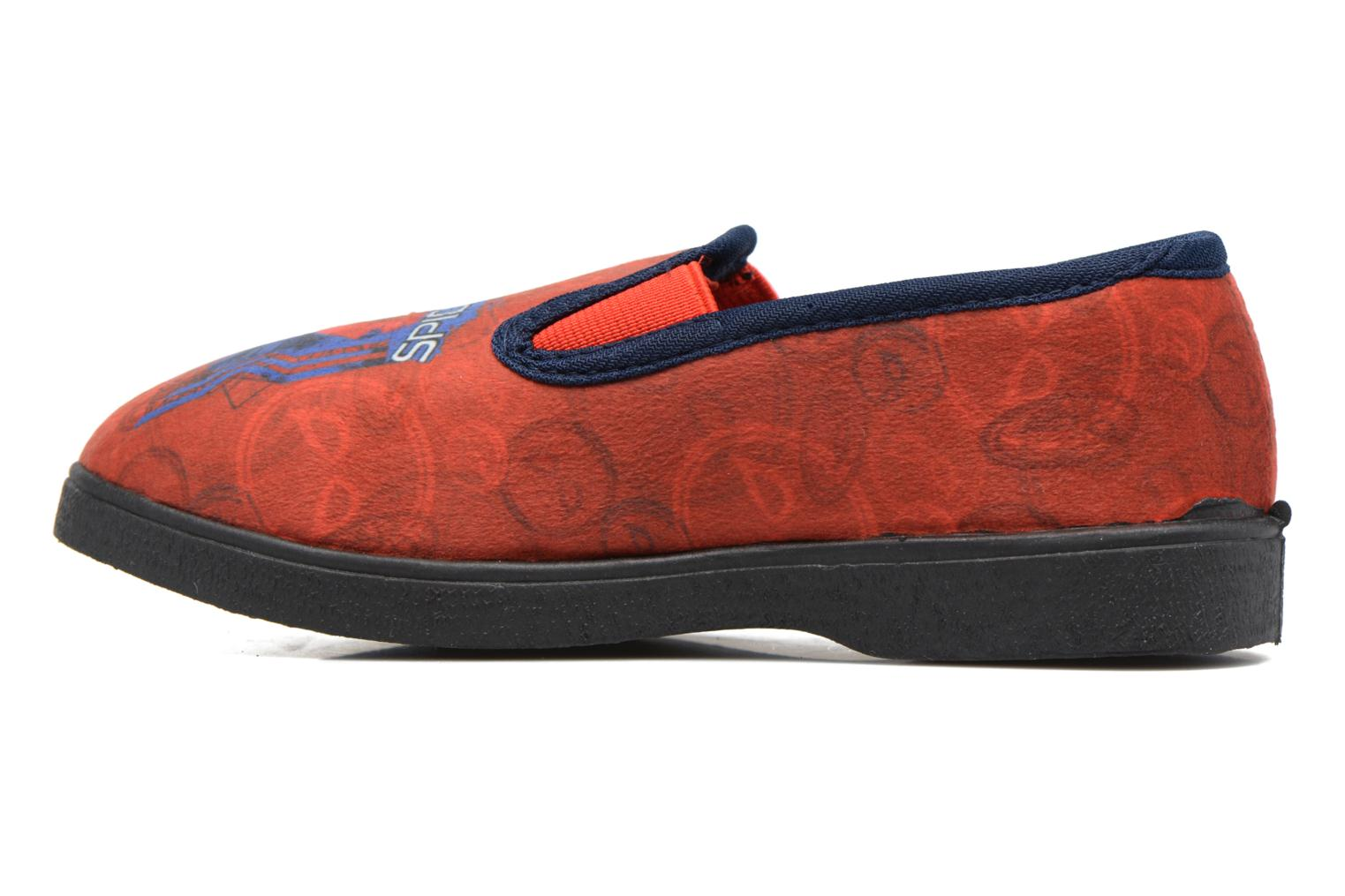 Chaussons Spiderman Spencer Rouge vue face