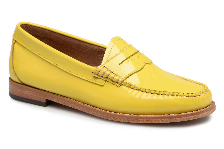 Marques Chaussure luxe femme G.H. Bass femme Weejun WMN Penny Wheel Lemon