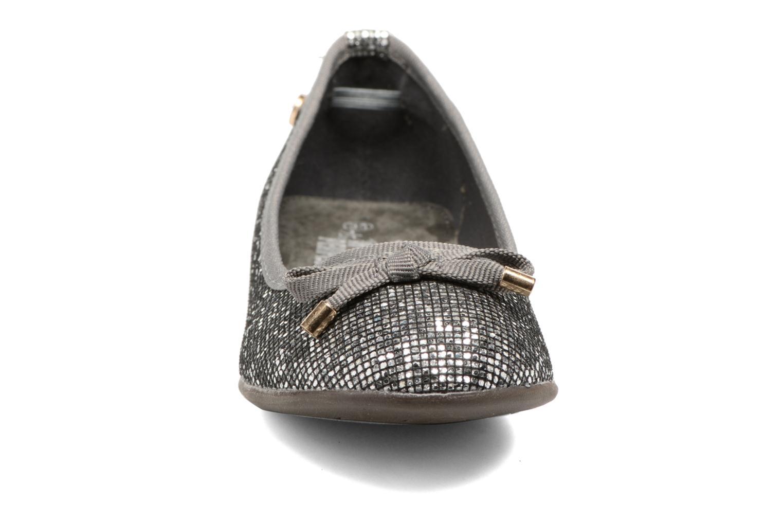Ballerines Xti 55092 Argent vue portées chaussures