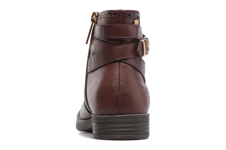 Boots en enkellaarsjes Xti 55106 Bordeaux rechts