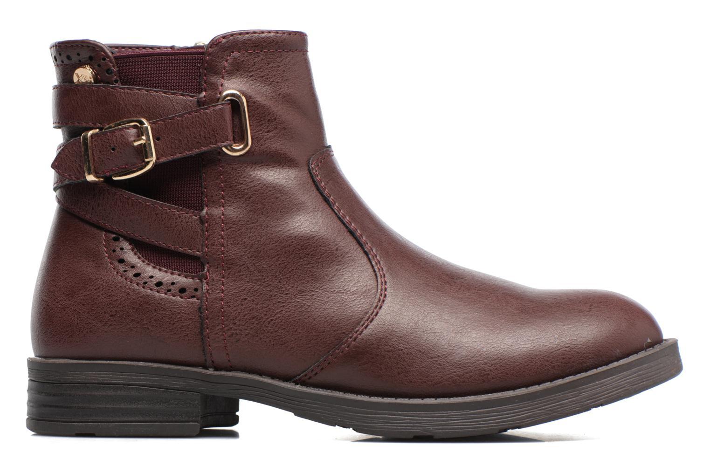 Boots en enkellaarsjes Xti 55106 Bordeaux achterkant