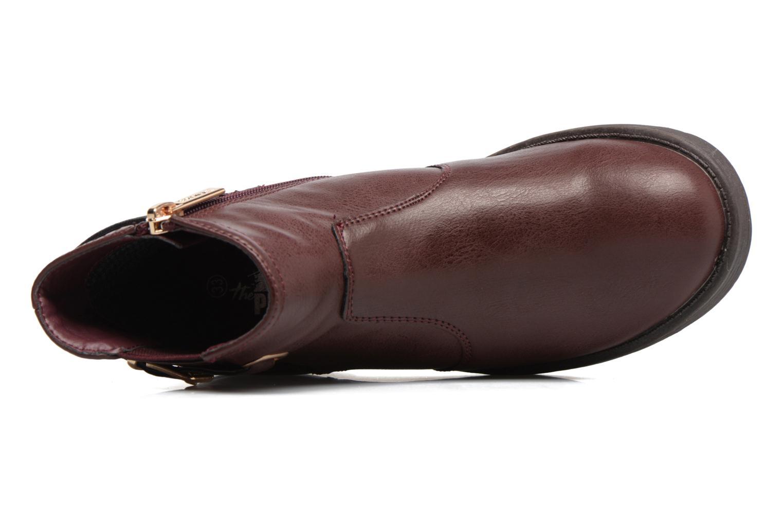 Boots en enkellaarsjes Xti 55106 Bordeaux links