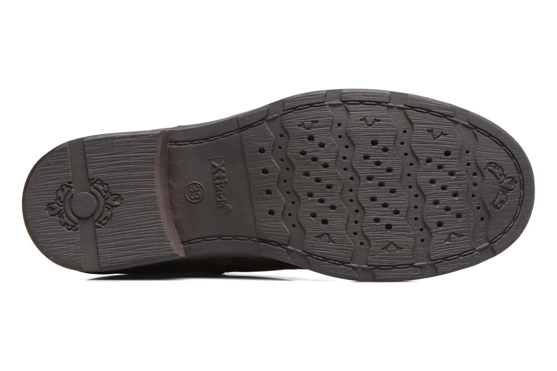 Boots en enkellaarsjes Xti 55106 Bordeaux boven
