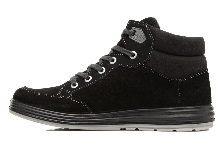 Sneakers Ricosta Bajo Nero immagine frontale