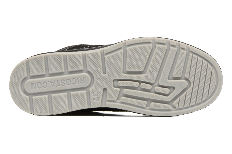 Sneakers Ricosta Bajo Nero immagine dall'alto