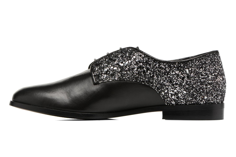 Zapatos con cordones Georgia Rose Louma Negro vista de frente