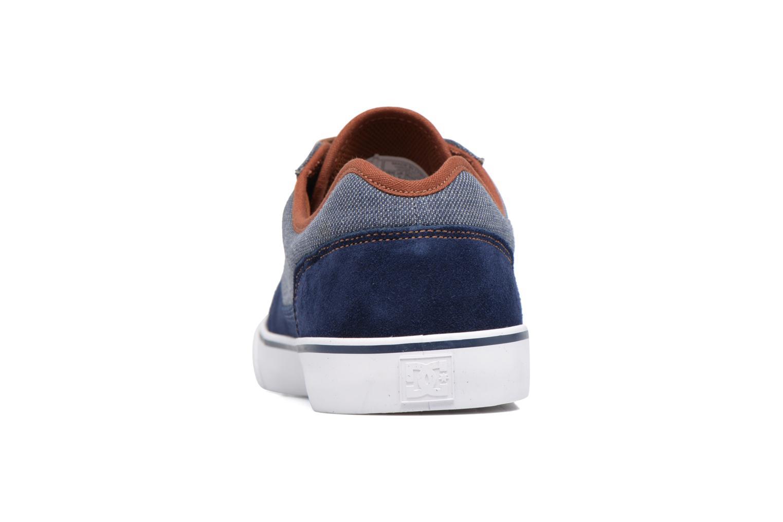 Baskets DC Shoes Tonik SE M Bleu vue droite