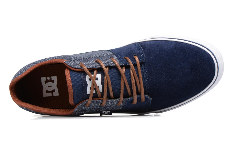Baskets DC Shoes Tonik SE M Bleu vue gauche