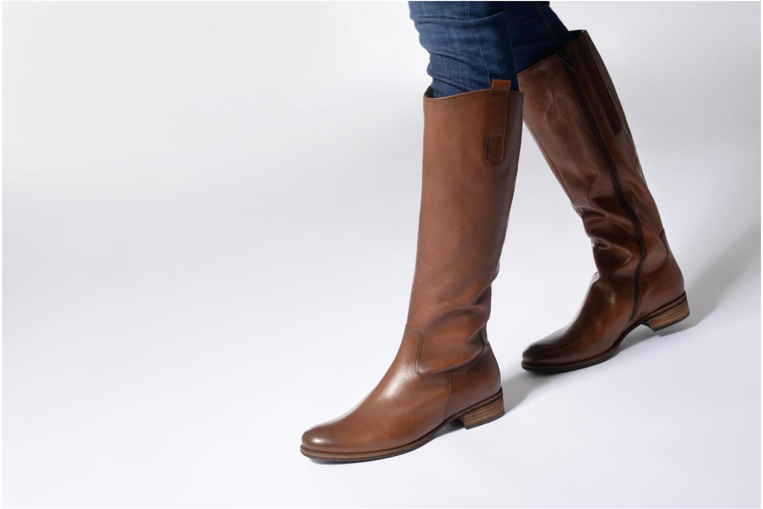Boots & wellies Gabor Linia Brown view from underneath / model view