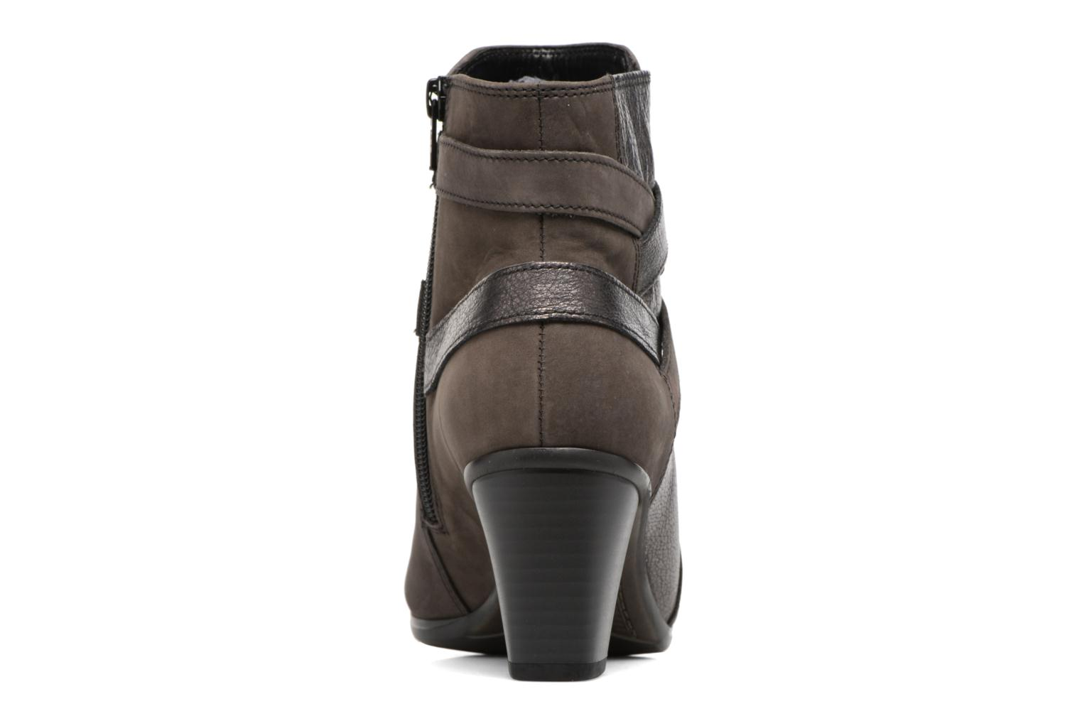 Ankle boots Gabor Finja Grey view from the right